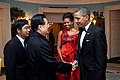 Barack and Michelle Obama say goodbye to President Hu Jintao of China, 2011.jpg