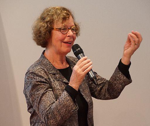 Barbara Klemm auf der Frankfurter Buchmesse 2014