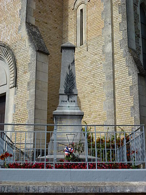 Barby, Ardennes - The War Memorial