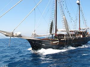 Puig (company) - One of the classic boats in 2010 Puig Vela Clàssica regatta