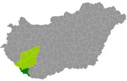 barcs térkép Kreis Barcs – Wikipedia barcs térkép