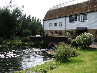 Chelmer Village Human settlement in England