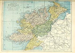 Inishowen West Barony in Ulster, Republic of Ireland