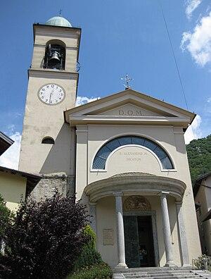 Barzio - Image: Barzio chiesa Sant Alessandro