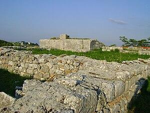 Juvanum - Basilica maggiore of Juvanum
