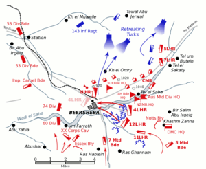 Battle of Beersheba (1917) - Wikipedia, the free encyclopedia
