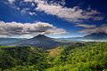Batur volcano and lake, located in Lesser Sunda Islands; June 2009.jpg