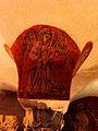 Bayeux (14) Cathédrale Crypte Ange musicien 15.JPG