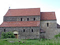 Bazilica in stil romanic din Cisnădioara, judetul Sibiu..jpg