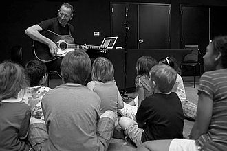 Darden Smith - Writing songs with elementary school students
