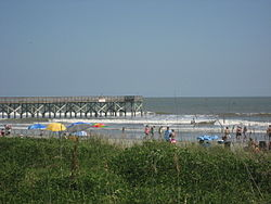The Beach At Isle Of Palms