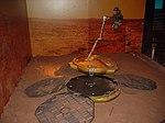 Beagle 2 model at Spaceport, Seacombe (30643397295).jpg