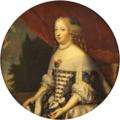 Beaubrun, studio of - Marie Thérèse of Austria, Queen of France, oval.png