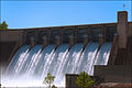 Beaver Lake Dam - Floodgates Open.jpg