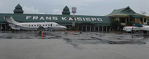 Frans Kaisiepo International Airport - Image: Beechcraft 1900D Kaisiepo