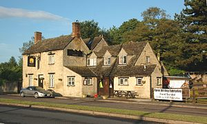Begbroke - The Royal Sun public house