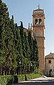 Bell tower of Monastery San Hieronimo, Granada, Andalusia, Spain.jpg