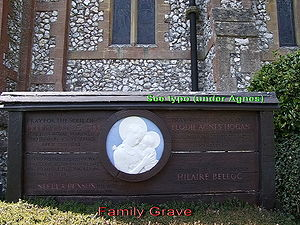 West Grinstead - Belloc Family Grave