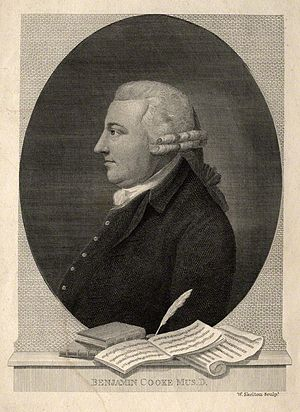 Benjamin Cooke - Portrait by William Skelton