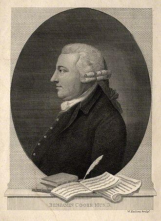 Benjamin Cooke - Portrait by William Skelton