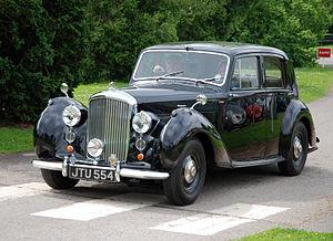 Bentley Mark VI - 1947 standard steel sports saloon