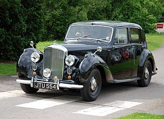 Bentley Mark VI - 1947 standard steel sports saloon