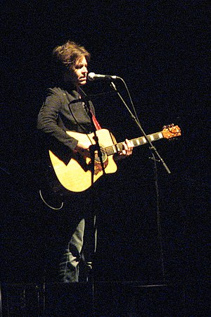 """Black Tears - Bernard Fanning performing """"Black Tears"""" on the Across the Great Divide tour"""