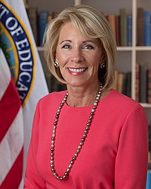 Betsy Devos Threat To Children With >> Betsy Devos Wikipedia