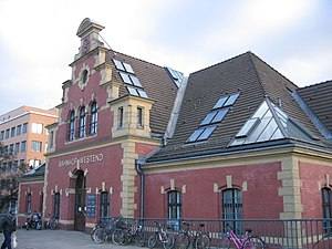 Berlin-Westend station - Old station building, 2008 condition