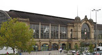 Hamburg Dammtor station - Outside view