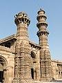 Bibiji's masjid Jhulta minar Gomtipur Ahmedabad 03.jpg