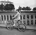Bicikliző fiú, 1962. Fortepan 73661.jpg