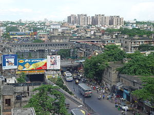 Ultadanga - The Bidhan Nagar or Ultadanga railway station.