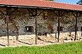 Biecz zespół klasztorny reformatów, XV, XVIII, XIX mury.jpg