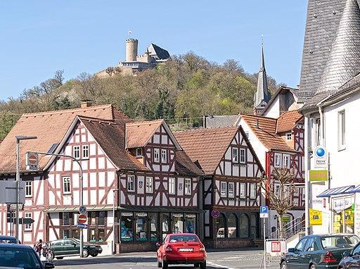 Biedenkopf mit Schloss
