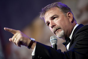 Bill Engvall - Engvall performing at the USO Gala in the Marriott Wardman Park Hotel in Washington, D.C. on October 7, 2010