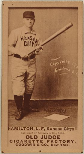 Image illustrative de l'article Billy Hamilton (baseball, 1866)