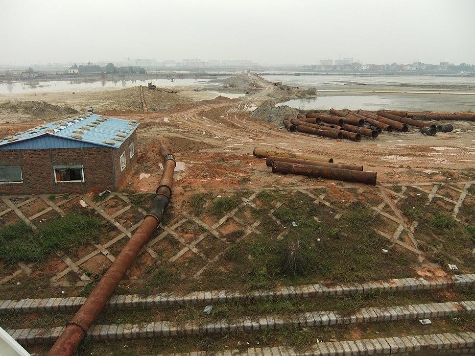 Bingzhou Peninsula area - land reclamation - DSCF9204