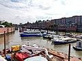 Binnenhafen mit Flussschifferkirche.jpg