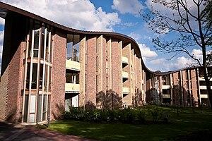 Bispebjerg Bakke (building) - Bispebjerg Bakke from the side