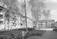 Smalhus i Blackeberg, 1950-tal