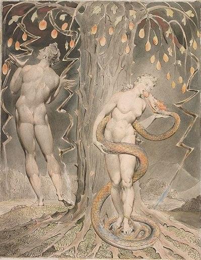Blake Adam and Eve