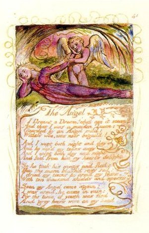 The Angel (Songs of Experience) - Image: Blake The Angel