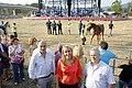 Blanca Martínez asiste a la carreras de caballos que tradicionalmente celebra Molledo en las fiestas de la Virgen del Camino.jpg