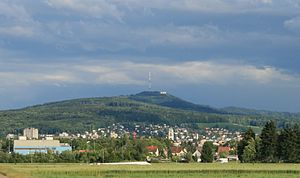 Dietikon - Dietikon and Uetliberg as seen from Spreitenbach