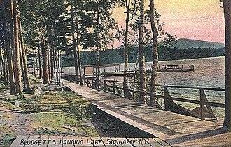 Newbury, New Hampshire - Blodgett's Landing in 1908