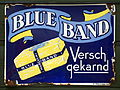 Blue Band Versch Gekarnd, emaille reclame bord.JPG
