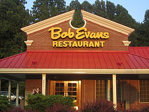 Bob Evans Restaurants - Bob Evans outlet in Lynchburg, Virginia.