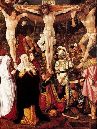 Hugo von Hohenlandenberg - Central image of the Bockstorfer Altar, Cathedral of Konstanz. Painted by Christoph Bockstorfer (?) in 1524.