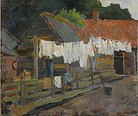 Boerderij met wasgoed aan de lijn by Piet Mondriaan.jpg
